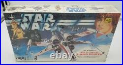 Star Wars Luke Skywalker X-Wing Fighter MPC 1978 model kit 1-1914 New and Sealed