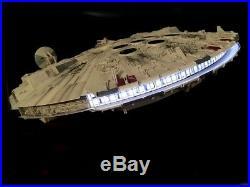Star Wars MILLENNIUM FALCON 1/72 Perfect Grade Built Model
