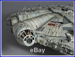 Star Wars MILLENNIUM FALCON Plastic Model Kit 1/72 Perfect Grade Standard Ver