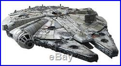 Star Wars Millennium Falcon 1/144 Scale Bandai Force Awakens Plastic Model Japan