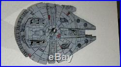 Star Wars Millennium Falcon model custom made from MPC kit 1/58th scale