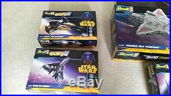 Star Wars Model Kit Collection Revell Republic Star Destroyer 6 kits + Poster