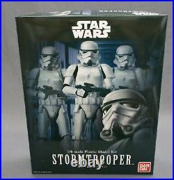 Star Wars Model Kit Stormtrooper 1/6 Bandai Japan NEW
