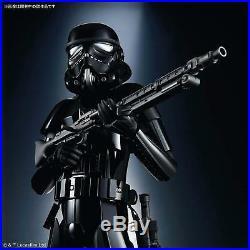 Star Wars Model Kit Stormtrooper Shadow Black Shadowtrooper 1/6 Bandai NEW