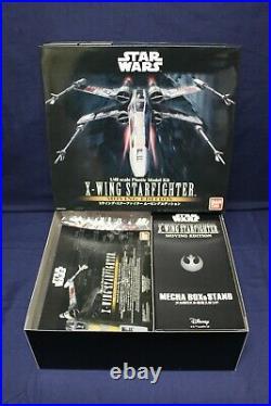 Star Wars Model Kit X-Wing Starfighter 1/48 Moving Edition Bandai Japan DD4