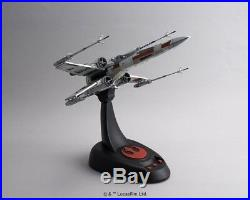 Star Wars Model Kit X-Wing Starfighter 1/48 scale Moving Edition BANDAI Japan
