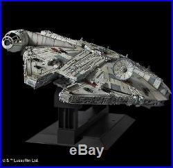 Star Wars Perfect Grade 1/72 MILLENNIUM FALCON Model Kit Premium Bandai JP A6598
