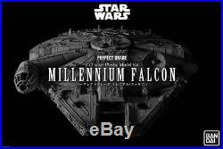 Star Wars Perfect Grade PG Model Kit 1/72 Millennium Falcon BANDAI in Brown Box