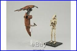 Star Wars Plastic Model Kit 1/12 BATTLE DROID & STAP Bandai Japan NEW