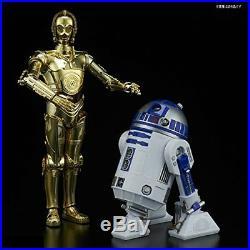 Star Wars Plastic Model Kit 1/12 Set C-3PO & R2-D2 The Last Jedi Bandai NEW RS