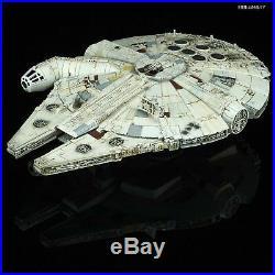 Star Wars Plastic Model Kit 1/144 MILLENNIUM FALCON The last Jedi Bandai Japan