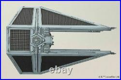 Star Wars Plastic Model Kit 1/72 TIE INTERCEPTOR Bandai Japan NEW
