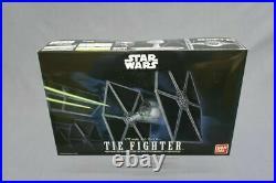 Star Wars Plastic model kit Tie Fighter 1/72 Bandai NEW