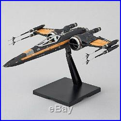 Star Wars Poe's Boosted X-Wing 1/72 Plastic Model Hobby Space Ship Bandai hobby