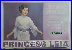 Star Wars Princess Leia 1/6 Scale Soft Vinyl Model Kit Made By Kaiyodo