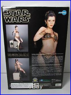 Star Wars Princess Leia Jabba's Slave Artfx Kotobukiya 1/7 Scale Model Kit