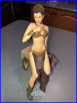 Star Wars Princess Leia Jabba's Slave Artfx Kotobukiya 1/7 Scale Model Kit Nib