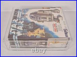 Star Wars R2-D2 Model Kit MPC 1977 AFA 85+