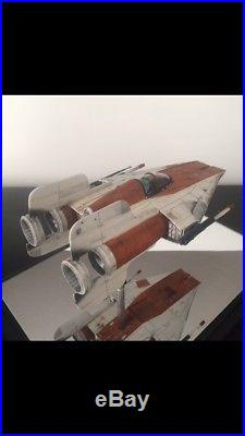 Star Wars ROTJ 1/24 A-Wing Fighter Resin Model Kit