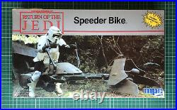 Star Wars ROTJ Speeder Bike Model Kit by MPC (SWMO-1-1927) BNIB Sealed