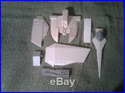 Star Wars Rare Resin Model Kit Zarkus 1/48 Kuat Systems Dagger