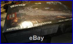 Star Wars Republic Star Destroyer Model Kit Revell 85-6458 sealed