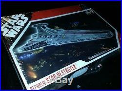 Star Wars Republic Star Destroyer Model Kit Revell NEW! SEALED US Seller