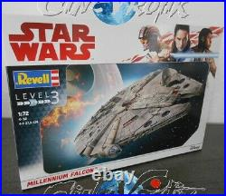 Star Wars Revell lot 3 maquettes Destroyer Imperial Faucon X-Wing model kit lot