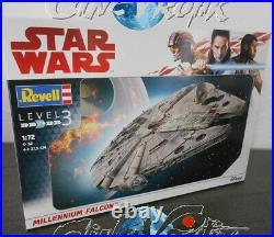 Star Wars Revell maquette 1/72 Faucon Millénaire Millenium Falcon model kit
