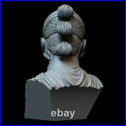 Star Wars Rey Bust 3D Printed SLA Resin Model Garage Kit