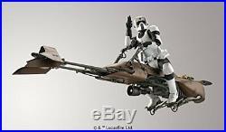 Star Wars Scout Trooper & Speeder Bike 1/12 scale plastic model