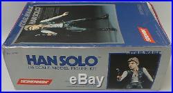 Star Wars Screamin' Hans Solo Star Wars Model Kit Made By Kaiyodo In 1994