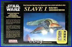 Star Wars Slave I 1/72 Scale Model Kit by Fine Molds (Boba Fetts Customized)