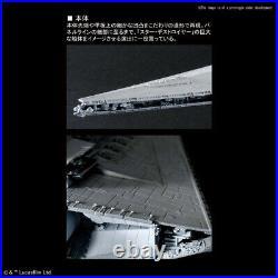 Star Wars Star Destroyer LTD ED LIT VERSION 1/5000 Model Kit Bandai 26WBA87