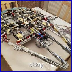 Star Wars Star Destroyer Millennium Falcon Bricks Model Kit