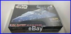 Star Wars Star Destroyer with Fiber Optic Lighting Model Kit