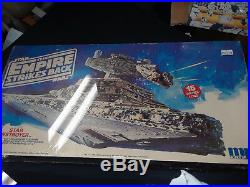 Star Wars Star destroyer Empire strikes back model kit 15 inches long Vintage mo