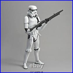 Star Wars Stormtrooper 1/6 Scale Plastic Model Kit Bandai From Japan NEW