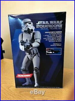 Star Wars Stormtrooper Model Kit Toy Figure Screamin' Collectible 1/4 Vintage