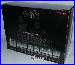 Star Wars Stormtrooper Two Pack 1/10 Scale Pre-painted Model Kit By Kotobukiya