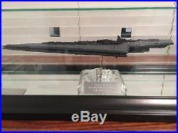 Star Wars Super Star Destroyer Model and Case