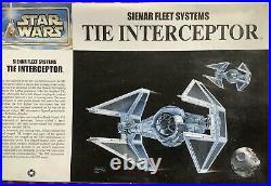 Star Wars TIE Interceptor 1/72 Scale Model Kit by Fine Molds BNIB