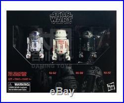 Star Wars The Black Series 6 Rebel Astromech Droid 3 Pack R2-d2, R5-d8, R2-x2