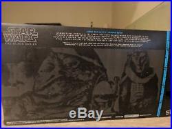 Star Wars The Black Series Jabba the Hutt Throne Set SDCC Jedi Con 2014