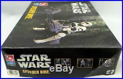 Star Wars The Return Of The Jedi Speeder Bike & Biker Scout Model Kit (mi)