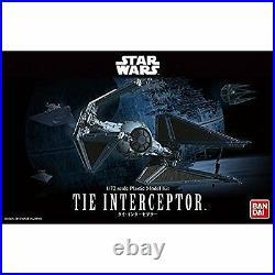 Star Wars Tie Interceptor 1/72 scale plastic model