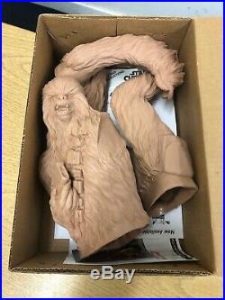 Star Wars Vintage Chewbacca Model Kit Toy Figure Screamin' Collectible 1/4