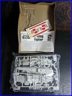 Star Wars X-wing Fighter Scale Model Kit Return of the Jedi MPC 8932 ERTL RARE