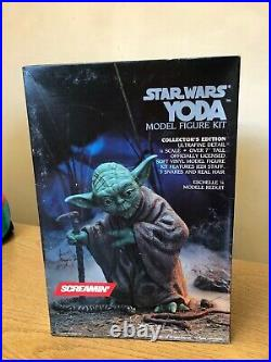 Star Wars Yoda Model Kit Toy Figure Screamin' Collectible 1/4 Vintage