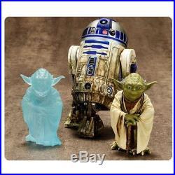 Star Wars Yoda & R2-D2 Dagobah 1/10 Scale Pre-painted Model Kit Artfx Kotobukiya